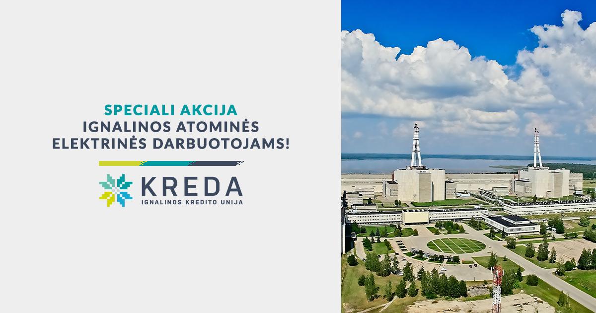 Speciali akcija Ignalinos atominės elektrinės darbuotojams