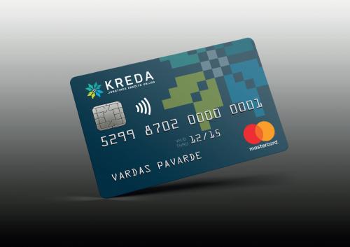Atnaujintas atsiskaitymas KREDA Mastercard kortelėmis