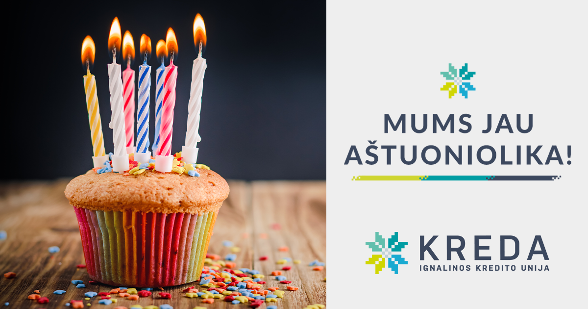 Ignalinos kredito unija švenčia 18-ąjį gimtadienį!