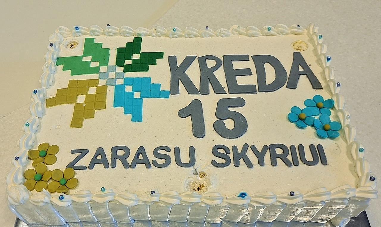 Ignalinos kredito unijos Zarasų skyrius švenčia penkioliktąjį gimtadienį